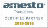 Amesto Certified Partner 2015-16